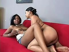 Stunning black girls fucking heavily