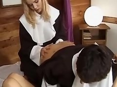 Three nice innocent nuns become lustful lesbians